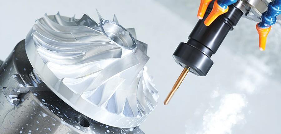 Frezowanie CNC 5 osi